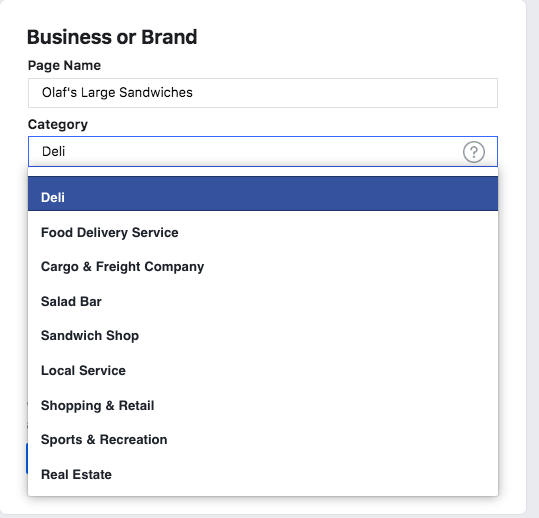 How to Create a Facebook Business Page 2